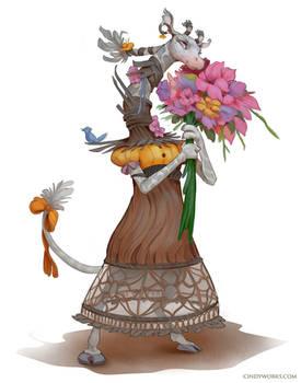 Bianca the florist