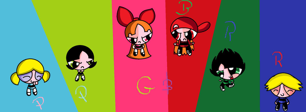 Ppg And Rrb by YoutubePupPup