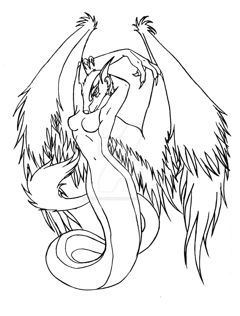 female dragonborn coloring pages - photo#27