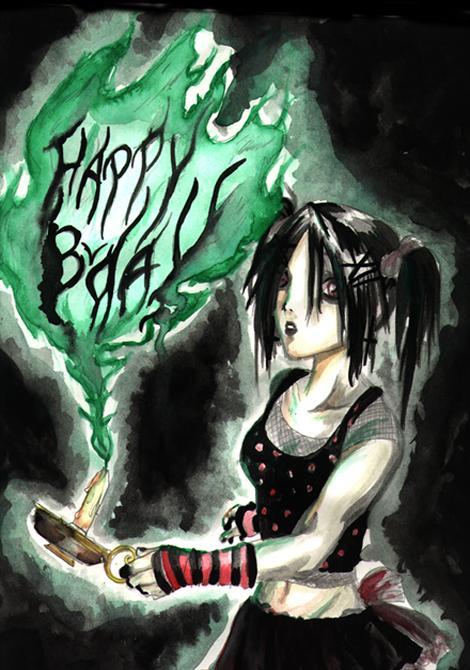 Emo Happy Birthday By Treehousecaity On Deviantart