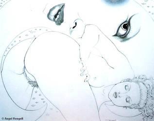 EVE ET LA LUNE - Angel Rengell
