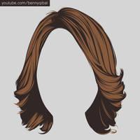 Vector Hair Tutorial  by bennyqibal