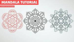 Mandala art tutorial  by bennyqibal