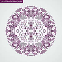 Mandala art  by bennyqibal