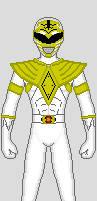 Zyuranger Style White Ranger