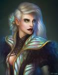 Portrait of an Elf