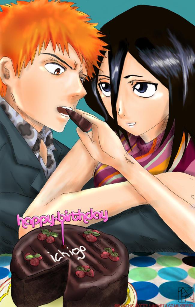 FANART: Happy Birthday Ichigo by milkberry