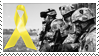 Yellow Ribbon stamp by kiowas-photos