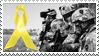 Yellow Ribbon stamp by kiowas-photos