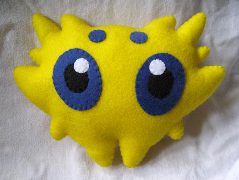 Joltik Pokemon Plush by P-isfor-Plushes