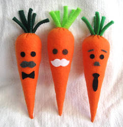 Carrot Patch - The mustache brigade