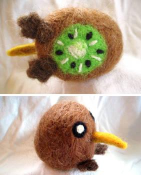 Kiwi Bird Needle Felt
