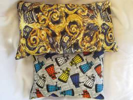Doctor Who throw pillows