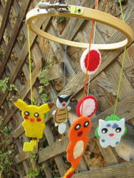Pokemon Baby Mobile -for sale