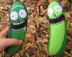 Pickle Rick Plush!