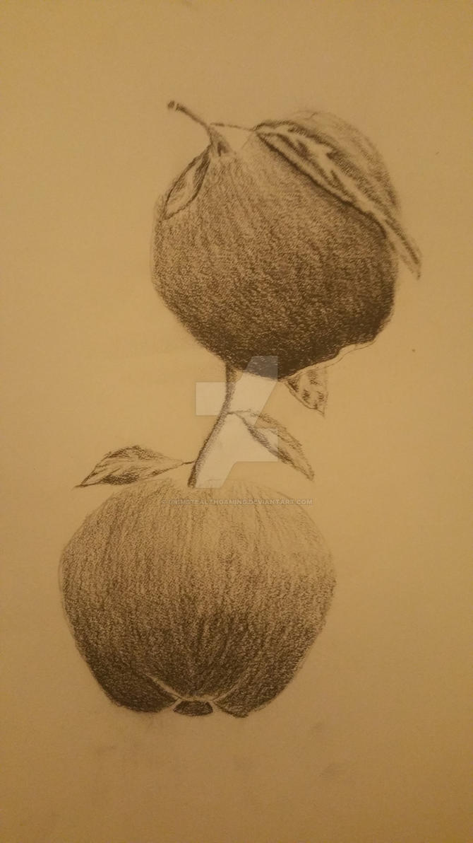 Charcoal Apples