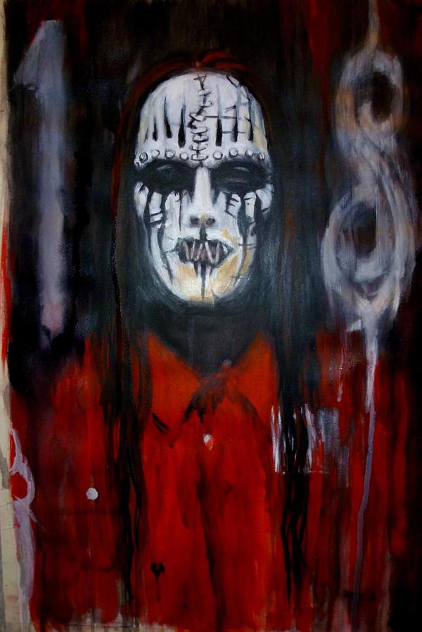 Joey Jordison Masked by KylieRussell666 on DeviantArt