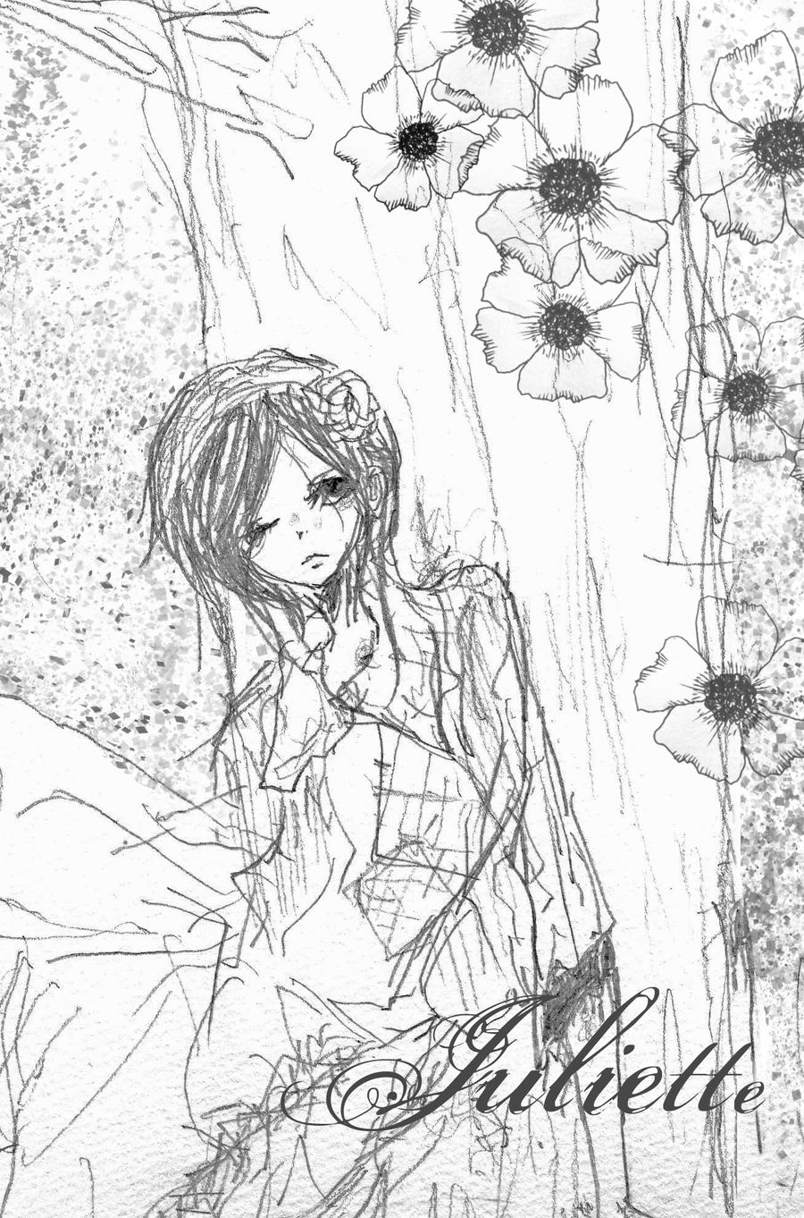 Juliette low coloring pages