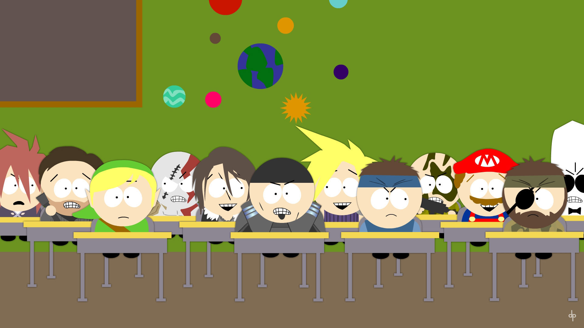 ... South Park videogame characters (Wallpaper) by dimitroncio