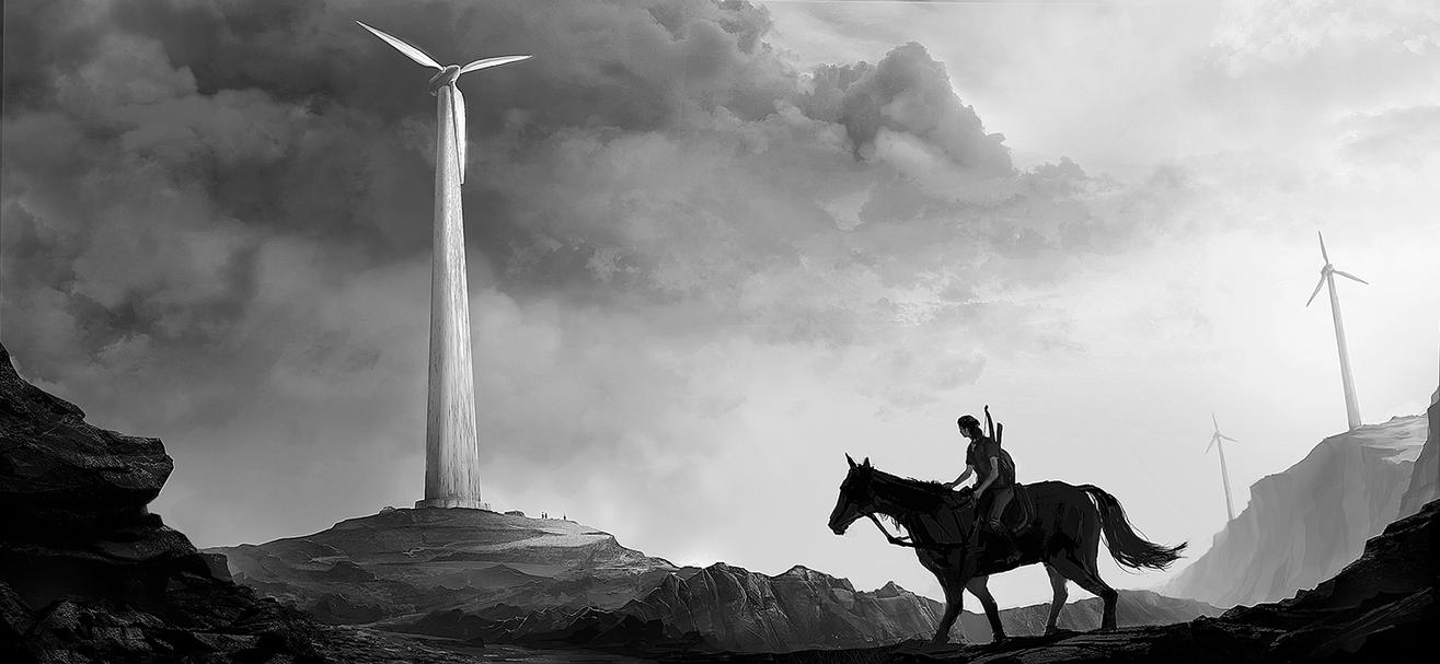 Part Of Art : The last of us washington lincoln memorial concept