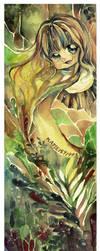 Chibi Bookmark for Kawako by kapie1571993