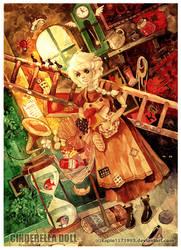 Ciderella Doll by kapie1571993