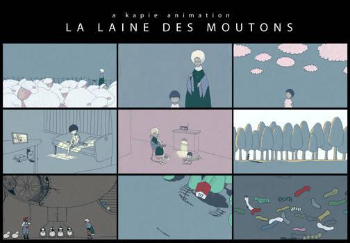 La Laine Des Moutons [Animation]