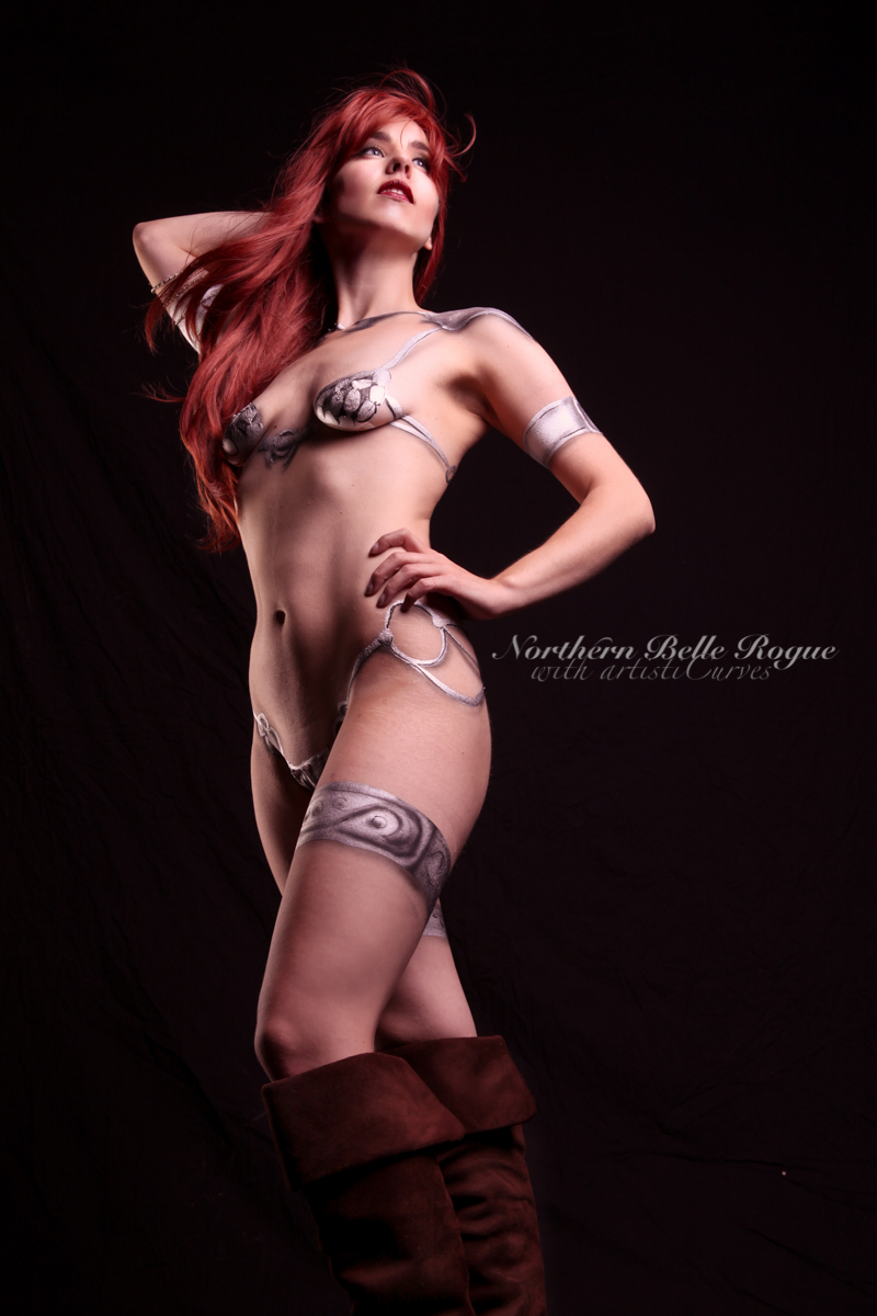 Red Sonja by NorthernBelleRogue