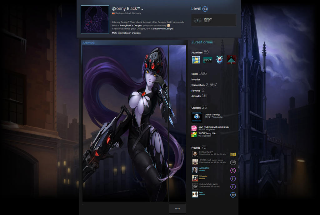 Steam Workshop Pubg 7 Animated Wallpaper: Widowmaker Steam Profile Design By