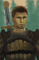 Don't look so Alistair (dragon age) by polinaart1