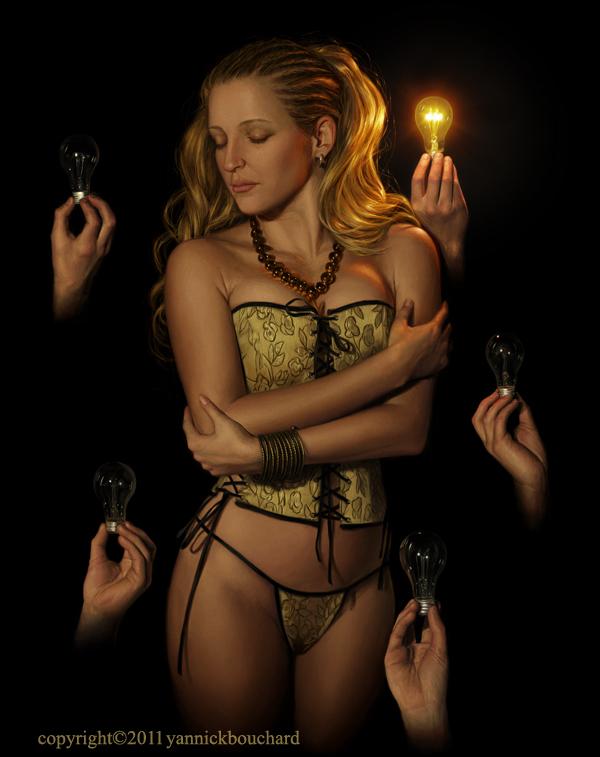 Amber -Light five by YannickBouchard