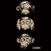 3 Wise Monkeys by YannickBouchard