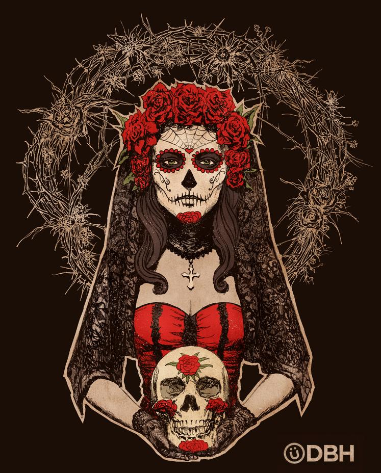 Lady of the Dead by YannickBouchard