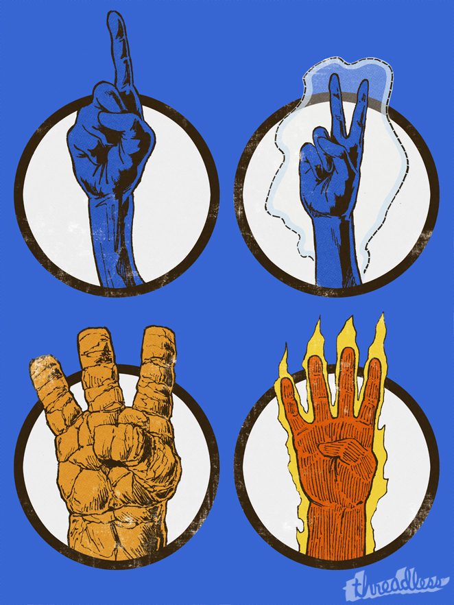 Fantastic 1, 2, 3, 4! by YannickBouchard