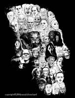 Horror Skull by YannickBouchard