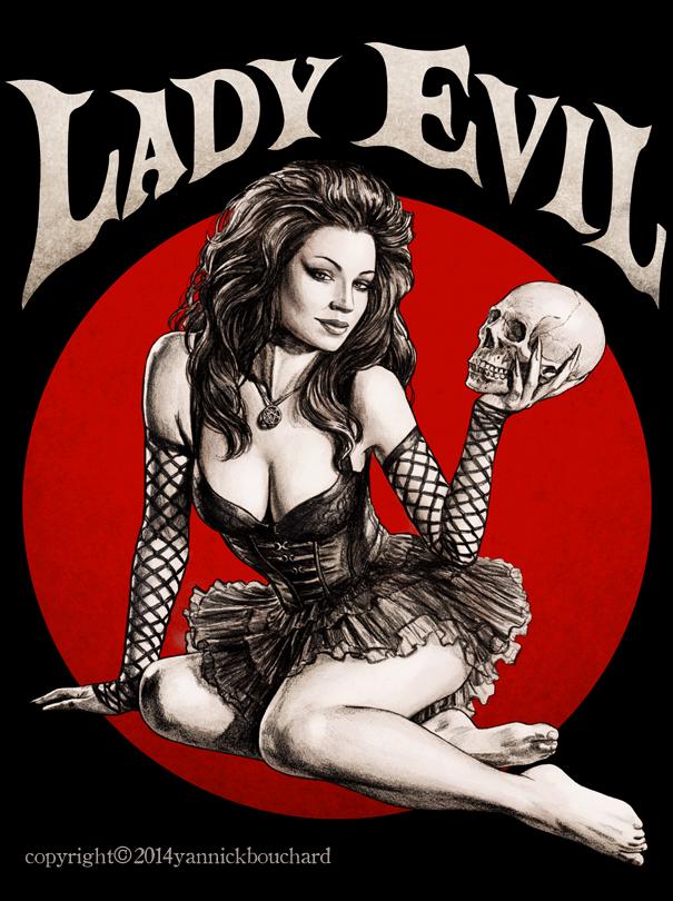Lady Evil by YannickBouchard