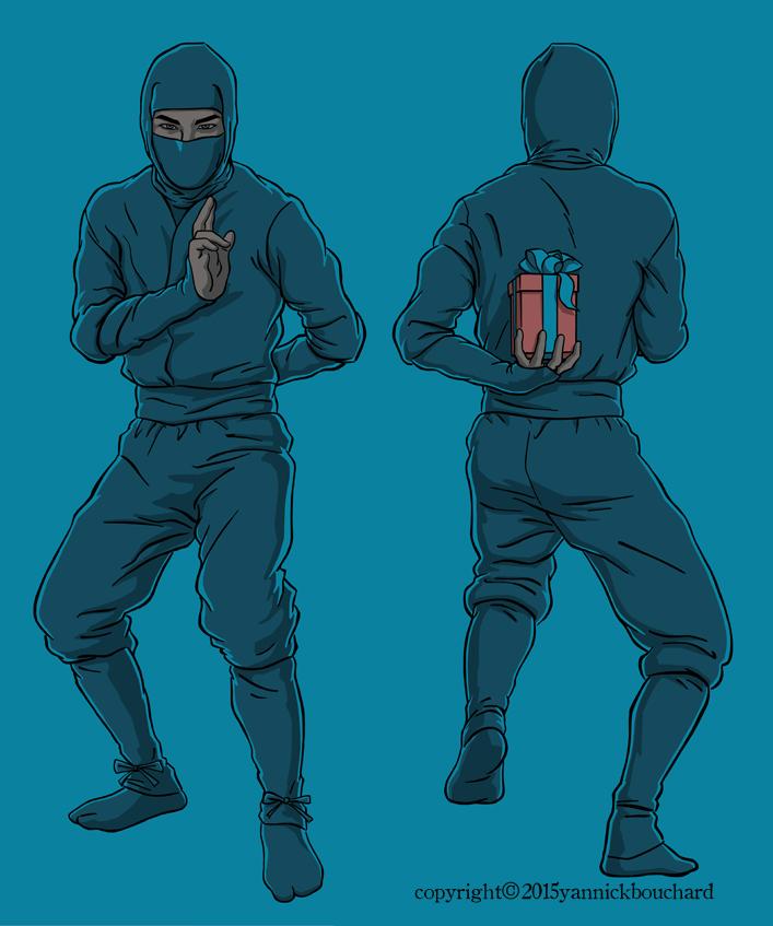 Ninja Gifter by YannickBouchard