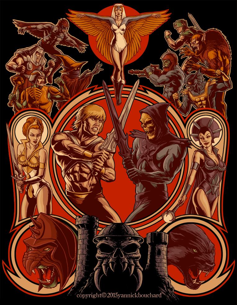 The Battle of Grayskull by YannickBouchard