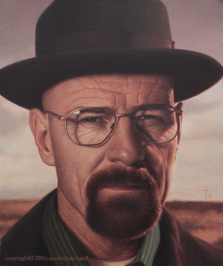 Heisenberg portrait by YannickBouchard
