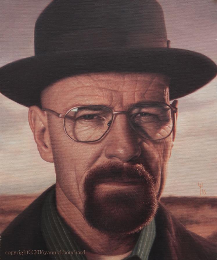 Heisenberg portrait by YannickBouchard