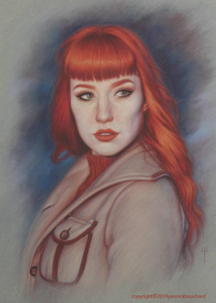 Leona Moon portrait by YannickBouchard