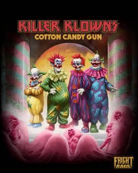 Killer Klowns -Cotton Candy Gun