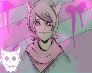 Fear the cat boy