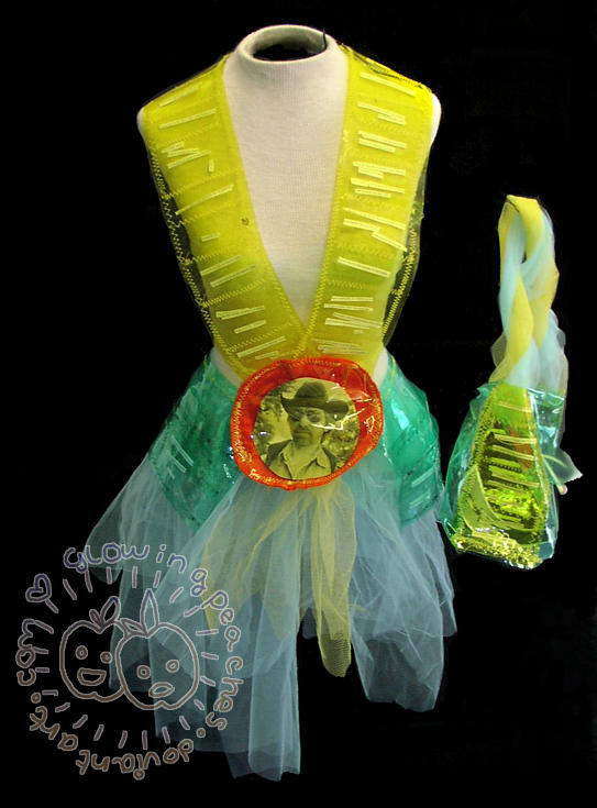 Chuck Norris Dress by glowingpeaches