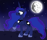 Princess Luna Pixel Art by Vaileaa