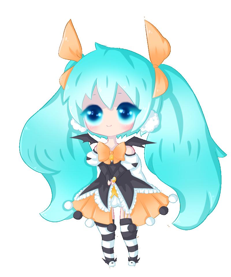Halloween Miku by CoffeeUmi