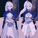 RWBY Weiss Vol7 redesign/edit