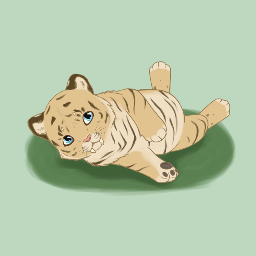 Sabertooth Tiger Cub by Lacey186