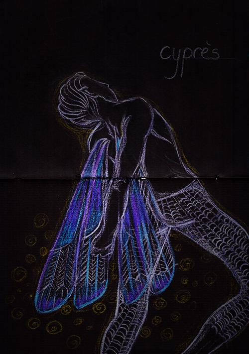 Pars delà les mots.  Cypres_by_yuikito-d8vm271
