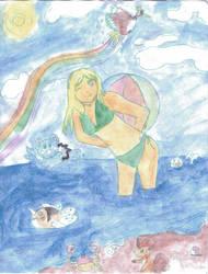 Nadia and team watercolor